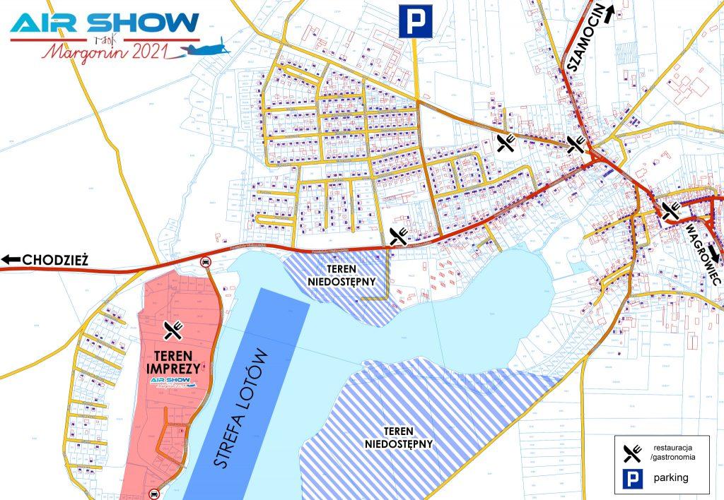 mapa pokazow